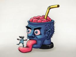 Straw Brain