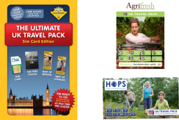 Touchdown Ready Travel Packs