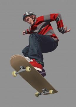 Skater Study 07